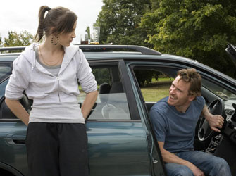 Katie Jarvis and Michael Fassbender