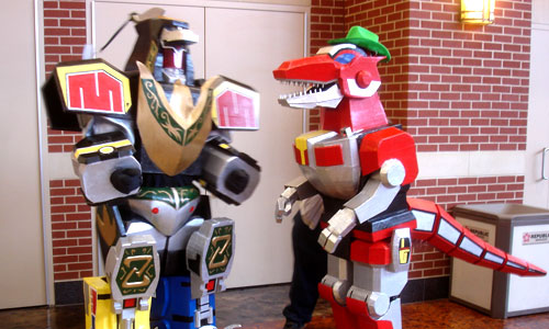 Megazords at the Lexington Comic & Toy Convention