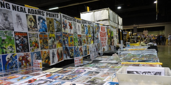 Neal Adams' booth