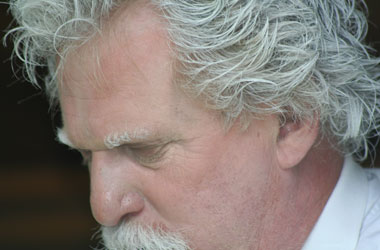 Ron Jewell as Mark Twain