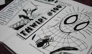 Thwip almost slices both fingers in paper cuts
